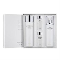 Missha 谜尚 - Time Revolution White Cure Set A : Radiance Toner 150ml + 30ml + Lotion 130ml + 30ml