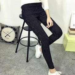 Fashion Street - Striped Skinny Pants