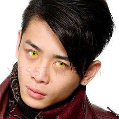 GEO - 炫彩隱形眼鏡 CP-F2 (黃) [只提供 P-0.00]