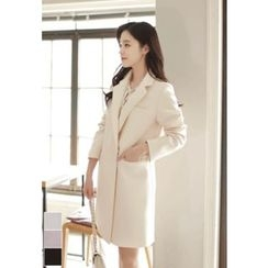 MyFiona - Slim-Fit Double-Breasted Coat