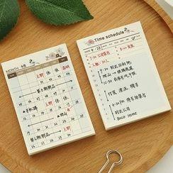 NANA STORE - Pocket Memo Pad (Various Designs)