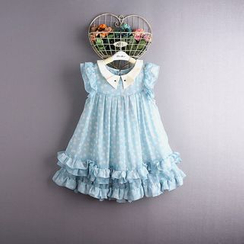 Kidora - Kids Short-Sleeve Chiffon Dress