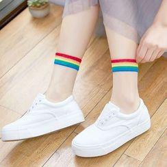 MITU - Rainbow Sheer Socks