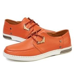 NOVO - Genuine Leather Boat Shoes