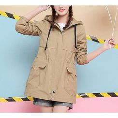 Dollisee - Hooded Trench  Jacket
