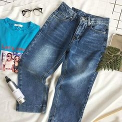 CaraMelody - Washed Jeans