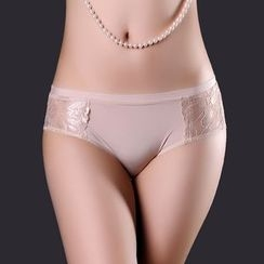 Sophine - Lace-Panel Panties