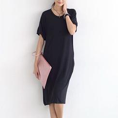 SO Central - Knit Short-Sleeved Dress