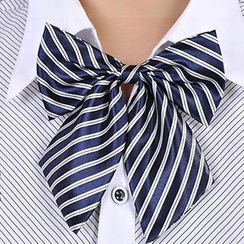 Romguest - Striped Bow Tie
