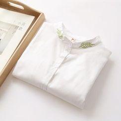布丁坊 - 刺繡襯衫