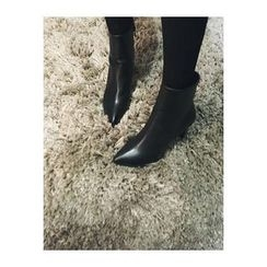 ATTYSTORY - Pointy-Toe Ankle Boots