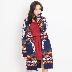Tokyo Fashion - Printed Long Cardigan