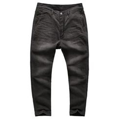 Mannmix - Washed Loose-fit Jeans