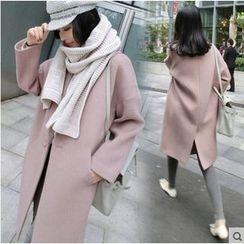 Raison d'etre - Plain Buttoned Coat
