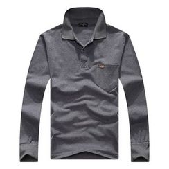 SENTA - Long Sleeve Polo Shirt