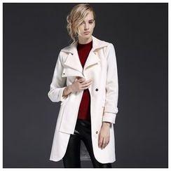 Y:Q - Woolen Trench Jacket