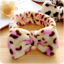 VANDO - Bow-Accent Printed Hair Band