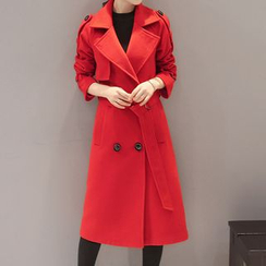 Donnae - Knit Lapel Coatdress