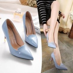 Monde - Pointy Toe Pumps