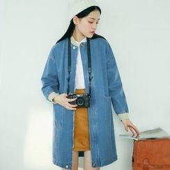 Hanayoshi - Denim Button Coat