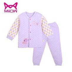 MiiOW - Kids Set: Printed Jacket + Pants