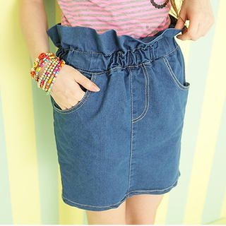 Sweet Dolly - Denim Pencil Skirt
