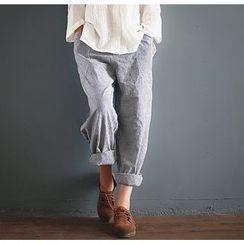 Calo Rosa - Striped Baggy Pants