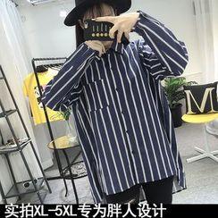 Soswift - 條紋長襯衣