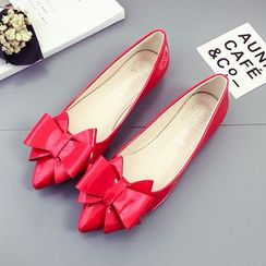 Tina Nini - Bow Accent Pointed Flats