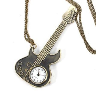 Fit-to-Kill - Guitar Vintage Pocket Watch