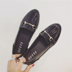 kokoin - Faux Patent Leather Loafers