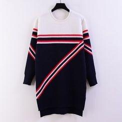 Tulander - 条纹针织连衣裙