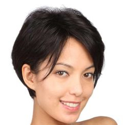 LeSalonWigs - Short Lace Front Full Wig - Straight