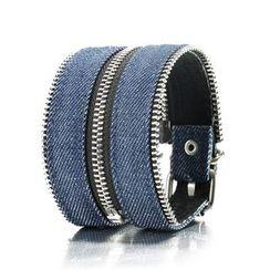 Trend Cool - Denim Zip Bracelet