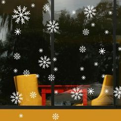 OH.LEELY - Snowflake Window Sticker