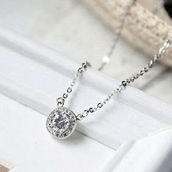 MOMENT OF LOVE - Rhinestone Necklace