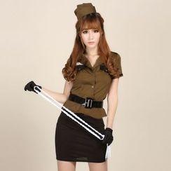 Aiyiruo - 警察派對服裝