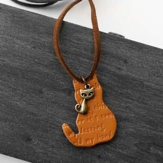 Cuteberry - Cat-Detail Necklace