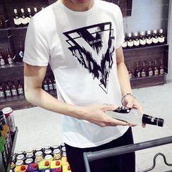 Seoul Boy - Print Short-Sleeve T-Shirt