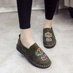 Chryse - 刺繡輕便鞋