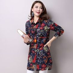 Supernova - Printed Long Shirt