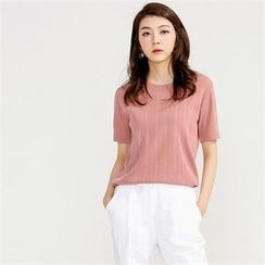 MAGJAY - Ribbed Knit Top