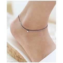 Miss21 Korea - Star Charm Chain Anklet