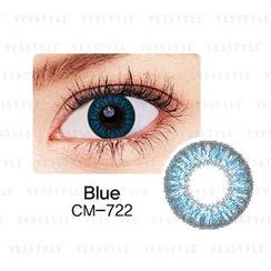 GEO - 彩色隐形眼镜 CM-722 (双彩蓝) [只提供 P-0.00]