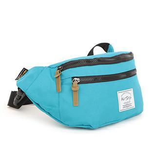 Mr.ace Homme - Contrast-Zip Belt Bag