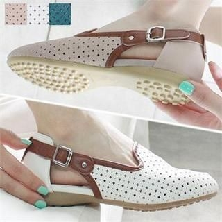 Reneve - Buckled Perforated Flats
