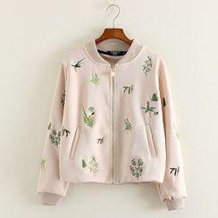 三木社 - 刺繡棒球夾克
