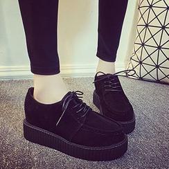 Bayrose - 系带厚底鞋