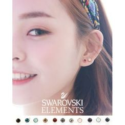 Miss21 Korea - Swarovski Crystal Stone Earrings