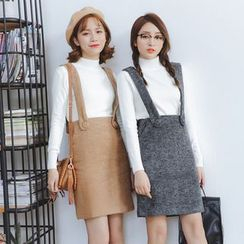 Porta - Woolen Jumper Skirt